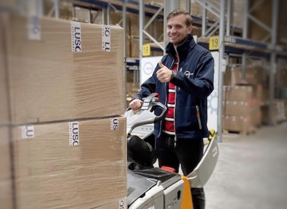 Luso Services offers a complete supply chain solution