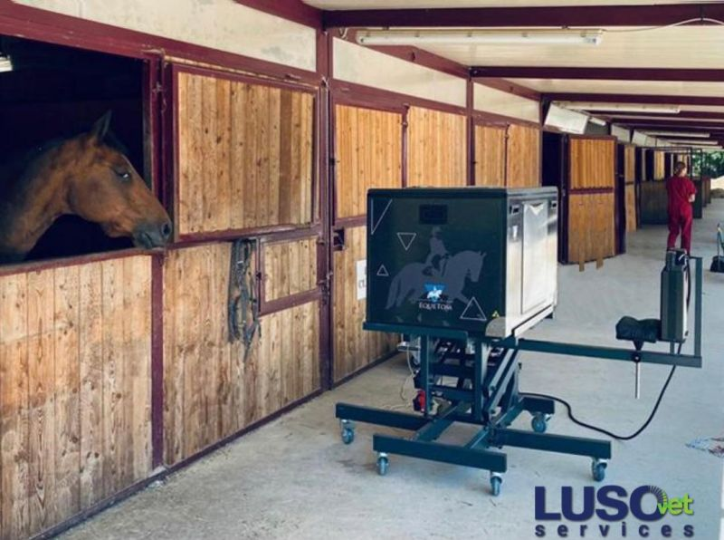 EqueTom is the first tomosynthesis system for equine scanning.