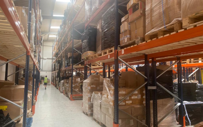Luso's new warehouse